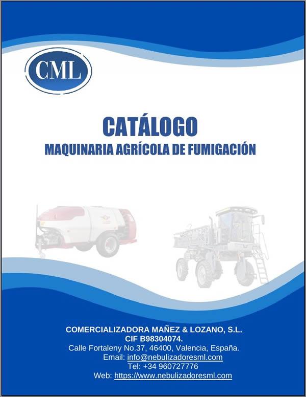 Catalogo general de nebulizadores y termonebulizadores